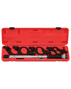 Genius Tools 8 Piece Torque Handle Hook Head Set, 30 ~ 150 ft. lbs. - TO-148F15
