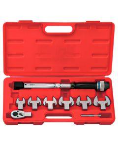 Genius Tools 8 Piece Torque Handle Set, 15 ~ 80 Nm - TO-408N80