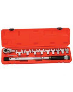 Genius Tools 11 Piece Torque Handle Set, 30 ~ 150 ft. lbs. - TO-411F15
