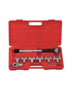Genius Tools 8 Piece Torque Handle Set, 10 ~ 60 ft. lbs. - TO-408F60