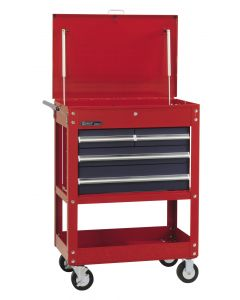 Genius Tools Roll Cart with 4 Drawers, 778 x 512 x 888mm - TS-764